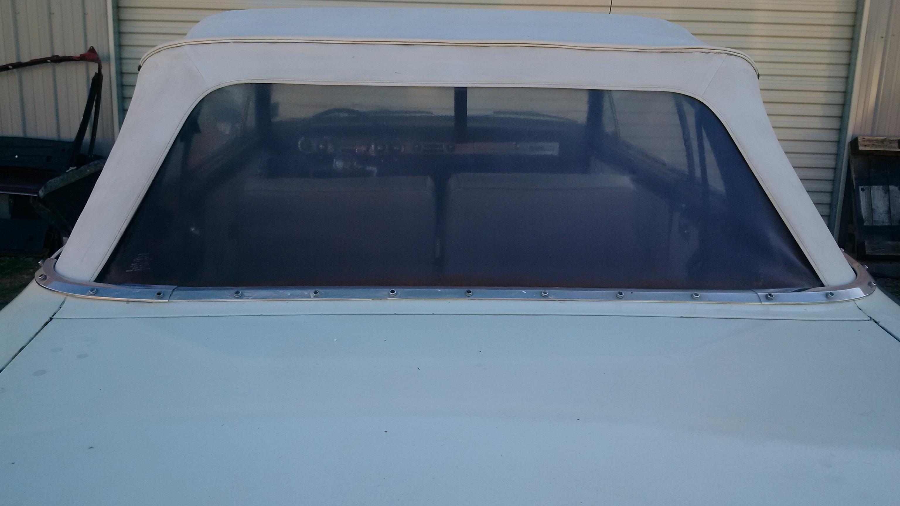 Rear Window Cleaning